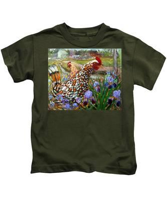 Chick And Iris Kids T-Shirt