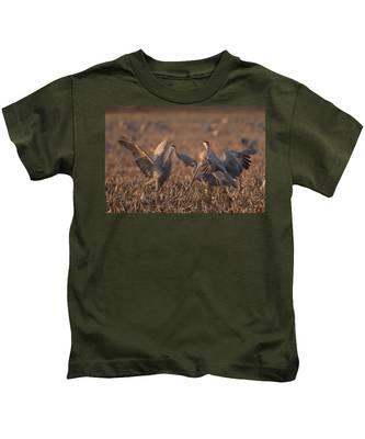 Dancing Sandhills Kids T-Shirt