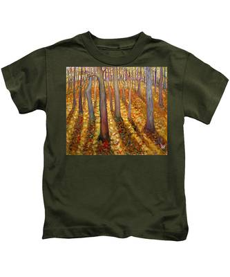 Dancing Trees Kids T-Shirt