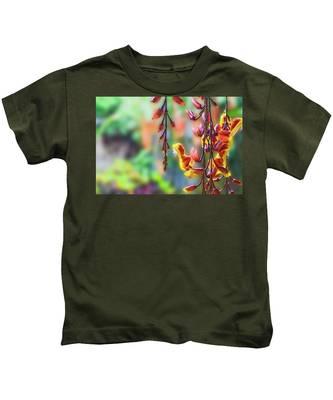 Pending Flowers Kids T-Shirt
