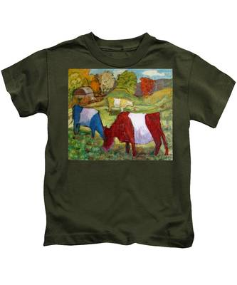 Primary Cows Kids T-Shirt