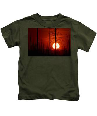 The Red Planet Kids T-Shirt