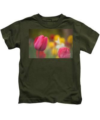 Tulips Blooming Kids T-Shirt