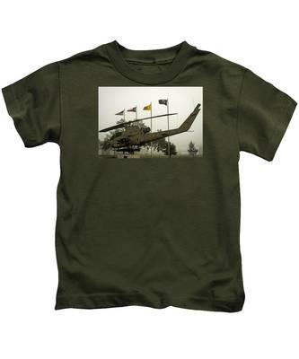 Vietnam War Memorial Kids T-Shirt