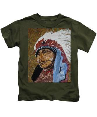 Warrior Chief Kids T-Shirt