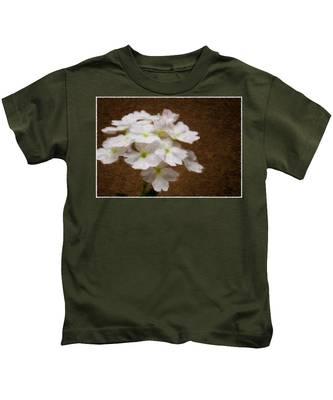 Watercolor Of Daisies Kids T-Shirt