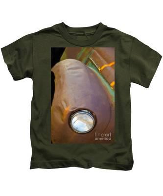 1941 International Truck Fender Kids T-Shirt