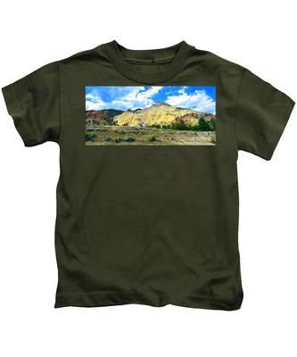 Big Rock Candy Mountain - Utah Kids T-Shirt