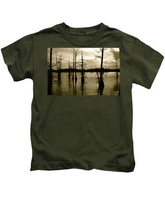 Black Bayou 8 Kids T-Shirt