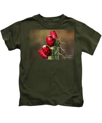Prickley Pear Fruit Kids T-Shirt