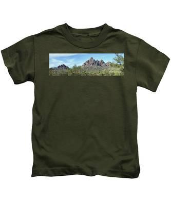 Ragged Top Mountain Panorama Kids T-Shirt