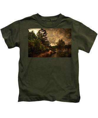 Textured Lake Kids T-Shirt