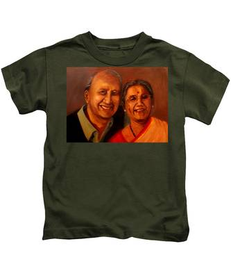 Uncle And Aunt Kids T-Shirt