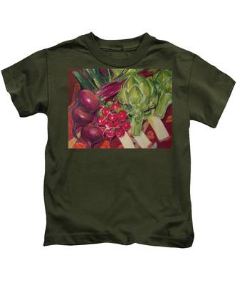 A Day In My Kitchen Kids T-Shirt