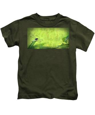 A Day In The Swamp Kids T-Shirt