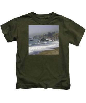 Along The Pacific #2 Kids T-Shirt