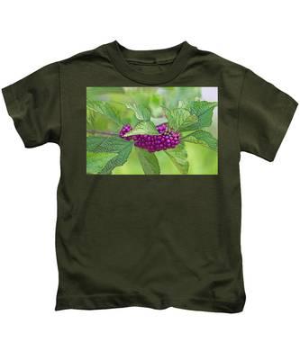 American Beautyberry Kids T-Shirt