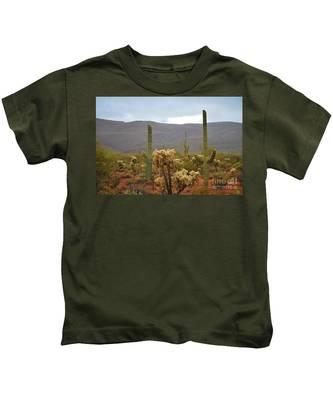 Arizona's Sonoran Desert  Kids T-Shirt