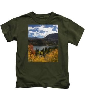 Autumn At Rock Creek Lake 2 Kids T-Shirt