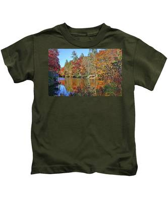 Autumn At The Lake 2 Kids T-Shirt