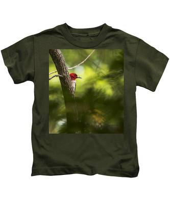 Beauty In The Woods Kids T-Shirt