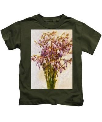 Bouquet Of Hostas Kids T-Shirt