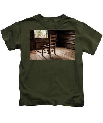 Broken Chair Kids T-Shirt