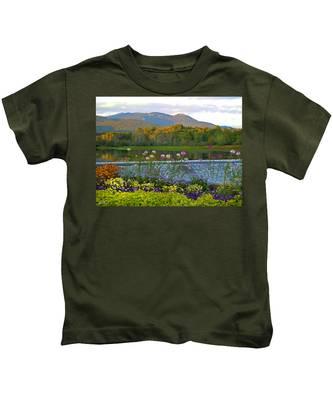 Campton Pond Campton New Hampshire Kids T-Shirt