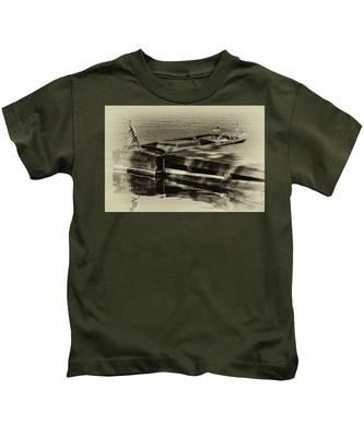 Vintage Chris Craft - 1958 Kids T-Shirt