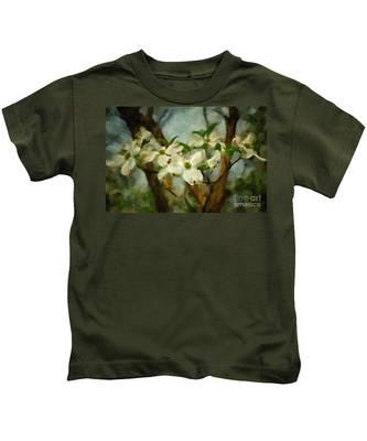 Cool Breeze Painterly Kids T-Shirt