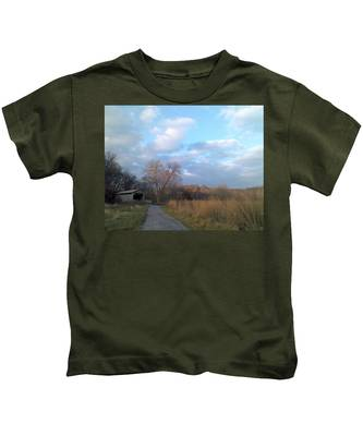 Covered Bridge Kids T-Shirt