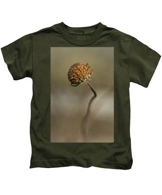 Dried Flower Close-up Kids T-Shirt