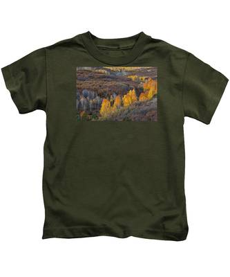 Fall In Line Kids T-Shirt