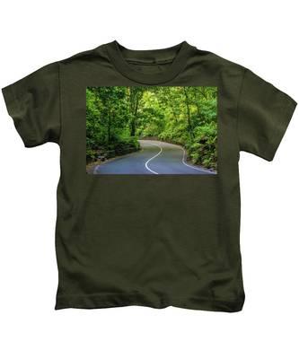 Fern Gully In Ocho Rios Jamaica Kids T-Shirt