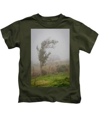 Fog And Wind Kids T-Shirt