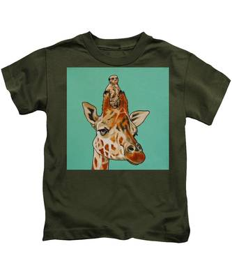 Gerald The Giraffe Kids T-Shirt