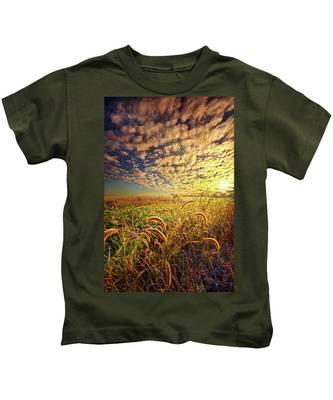 Going To Sleep Kids T-Shirt