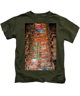 Hong Kong -yaumatei Kids T-Shirt