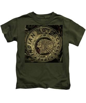 Indian Motorcycle Logo Kids T-Shirt