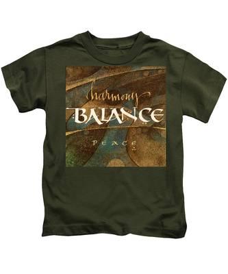 Inspirational Words Kids T-Shirt