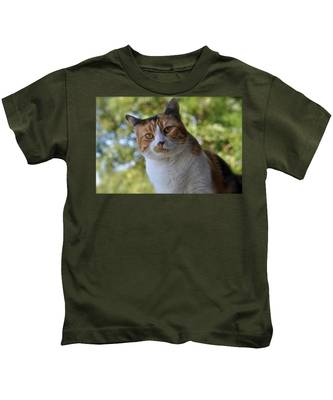 Kids T-Shirt featuring the photograph Jordan by Bridgette Gomes
