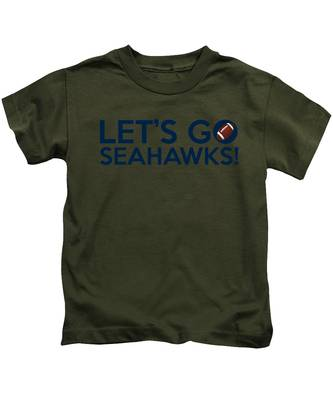 Let's Go Seahawks Kids T-Shirt
