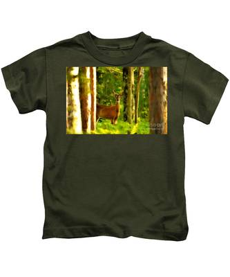 Look Deep Into Nature Kids T-Shirt