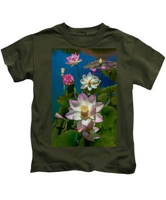 Lotus Pool Kids T-Shirt