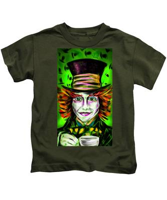 Mad Hatter Kids T-Shirt