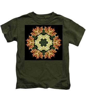 Mandala Autumn Star Kids T-Shirt