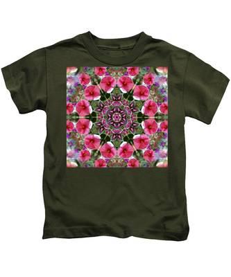 Mandala Pink Patron Kids T-Shirt