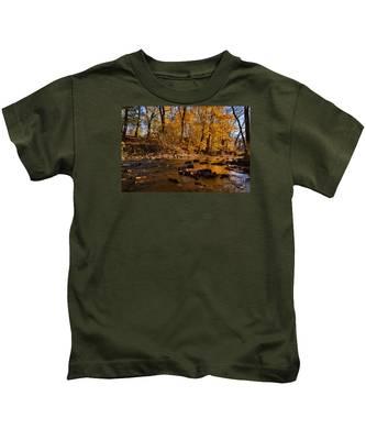 Molten Gold Kids T-Shirt