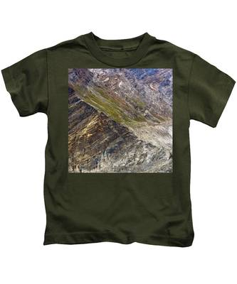 Mountain Abstract 1 Kids T-Shirt