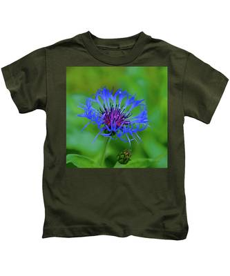Mountain Cornflower Kids T-Shirt